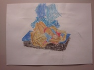 life drawing withpastels