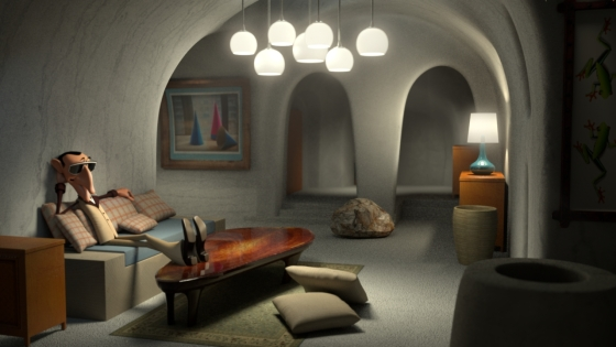 Interior Lighting for Animation